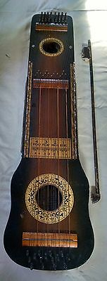 Antique Ukelin instrument 1923 manufactures Advertising Co