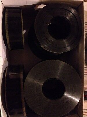 Lot de 8 bandes annonces  35 mm Volte face, madagascar 3, Apprenti sorcier