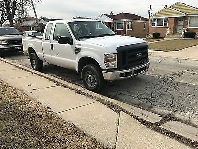 2008 Ford F-250 xlt 2008 ford f-250 super duty extended cab 4x4