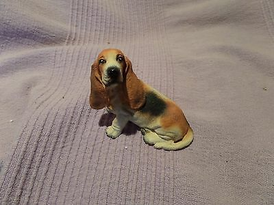 Cute Small Dog Ornament - Bassett Hound