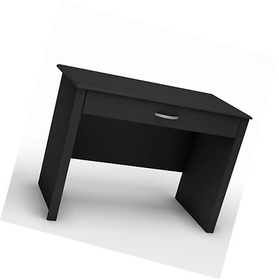 South Shore Furniture Work ID Collection Laptop Desk, Pure Black
