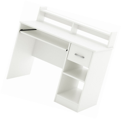 South Shore Furniture Axess Collection Desk, Pure White
