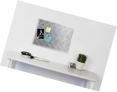 Umbra Trigon Bulletin Board, White