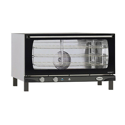 Cadco XAF-183 Countertop Electric Convection Oven - 3 Full Size Pan Capacity