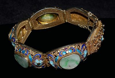 Spectacular Chinese Export Bracelet