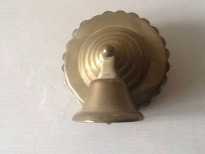 Antique Horse Brass Bridle Rosettes With A Bell