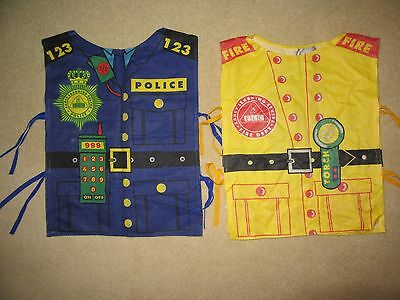 2 x Dress Up Tabards Age 3-5 Years