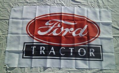 Ford Tractor 3' X 5' Polyester Flag Banner Man Cave Bar Shop NEW # 175