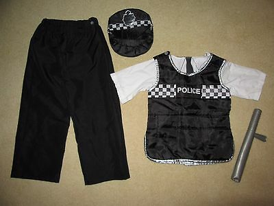 Policeman Outfit Age 5-6