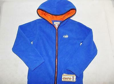 Kids Headquarters Boys Blue Hoodie Jacket 100% Polyester NWT Size 7