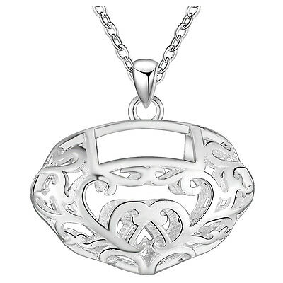 New products Fashion Jewelry 925 Silver fine gift Personality patterns necklace