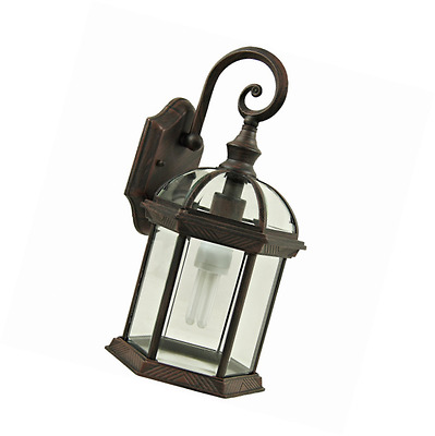Yosemite Home Decor 5271VB Anita 1-Light Outdoor Wall Sconce with Clear Beveled
