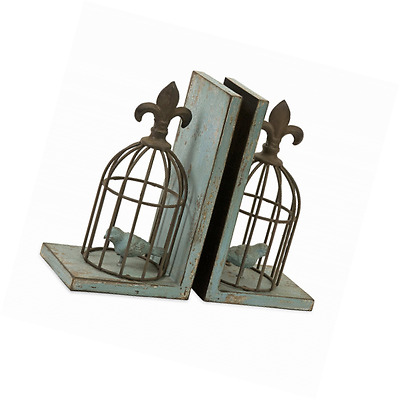 IMAX 87378-2 Birdcage Bookends, 2-Pack