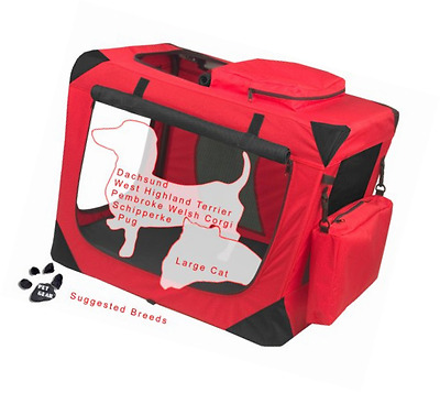 Pet Gear Generation II Deluxe Portable Soft Crate for Cats and Dogs up to 30-Pou