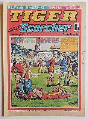 TIGER & SCORCHER Comic - 23rd August 1975