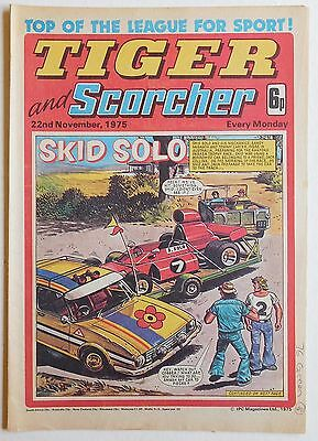 TIGER & SCORCHER Comic - 22nd November 1975