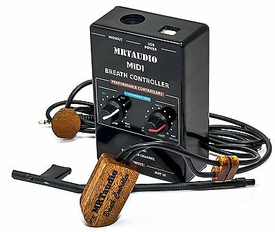 MRTaudio Breath Controller Complete Set Compatible with yamaha BC for korg - new