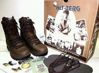 altberg brown boots size 9