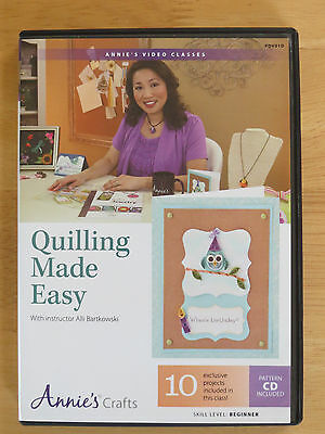 Quilling Made Easy DVD & CD (Arts Craft Papercraft Crafting)