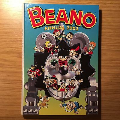 The Beano Annual 2003 Hardcover UK Comic Good Condition