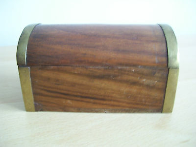 Vintage Wooden Box Chest – Small