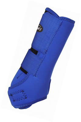 Tough 1 Economy Vented Front Sport Boots, Royal Blue, Medium