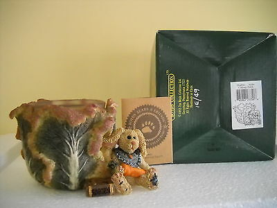 Boyds Bears Daphne..in The Cabbage Patch Votive Sty#27750 Nib Very Low # 1E/49