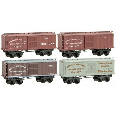 Micro-Trains MTL N Weathered HS Graffiti 3 Pack Box Car 99305370 FEB 2017