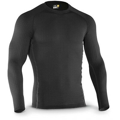 Under Armour Base 4.0 Long Sleeve Top - Black - Crew