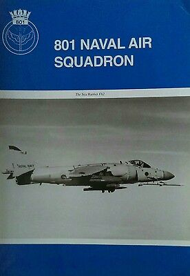 Royal Navy Public relations Leaflet. 801 Naval Air Squadron.