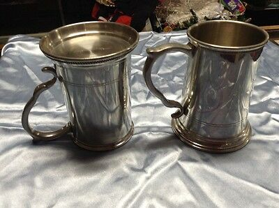 Tiffany Pewter tankers