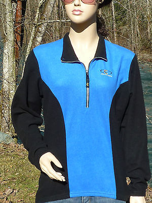 Cannondale Xl 1/2 Zippered Long Sleeve Bicycle Pullover Sweater Rear Pocket Only
