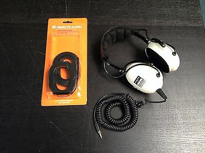 Remote Audio HN-7506 High Noise Isolating Headphones Gel Filled Earpads