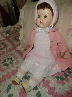 composition doll hard plastic head  tiny tears  parts repair