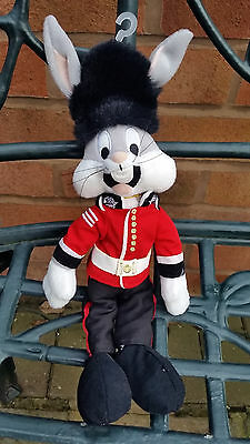 Bugs Bunny Soft Toy in a Buckingham Palace Uniform from Warner Bros Studio Store