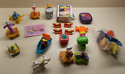 Several Pounds of McDonald's Toys