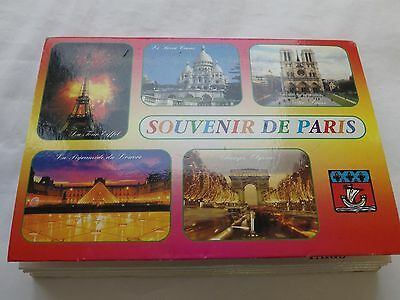 Postcard book 'Monuments de Paris'