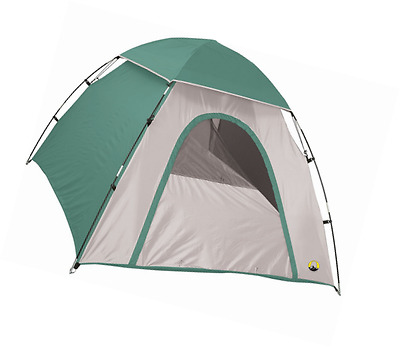 """Stansport """"Adventure"""" Backpackers Dome Tent (Forest Green/Tan, 78 by 66 by 43-In"""