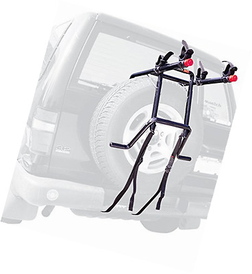 Allen Sports Deluxe 2-Bike Spare Tire Mounted Rack