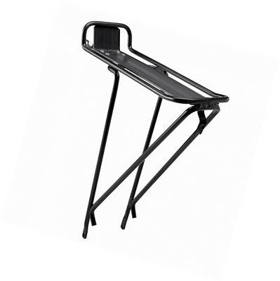 BV Bicycle Commuter Rear Carrier Rack, Carries up to 55-Pound, for 24-Inch, 26-I