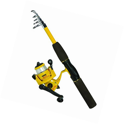 Eagle Claw Pack-It Spin Combo Telescopic Rod (1 Piece)