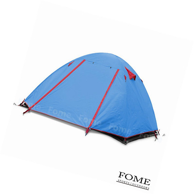 Camping Tent, FOME SPORTS|OUTDOORS 2 Person Double Layer Tent Outdoor Waterproof
