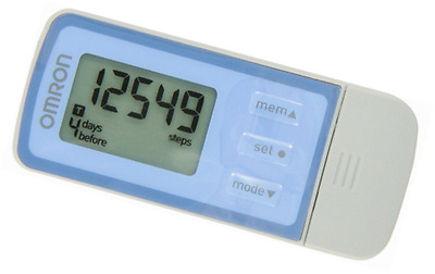 Omron HJ-323USB Pedometer with Web-Based Solution