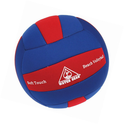 Water Gear 17350 Beach Volleyball Soft Touch, Red/Blue
