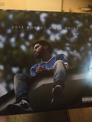 J Cole 2014 Forrest Hills Drive Double LP BUY IT NOW PRICE £25 OR BEST OFFER