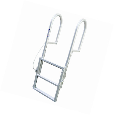 Extreme Max Products 3005.346 Sliding Dock Ladder, 3 Step