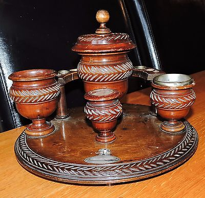Vintage Wooden Smokers Stand