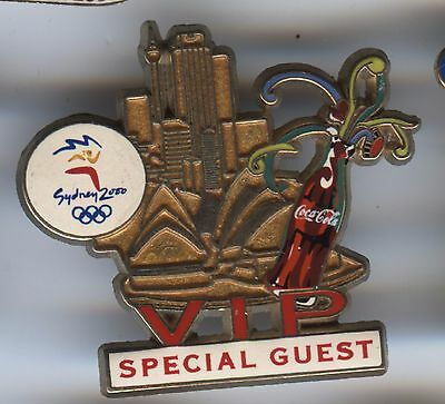 Sydney 2000 Olympic Games Australia - Coke Cola - Special Guest Pin