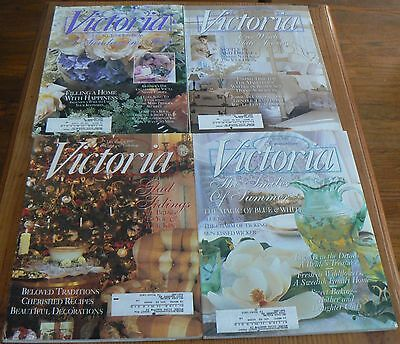 VICTORIA Magazine -4 1997 Back Issues - January, May, June & December