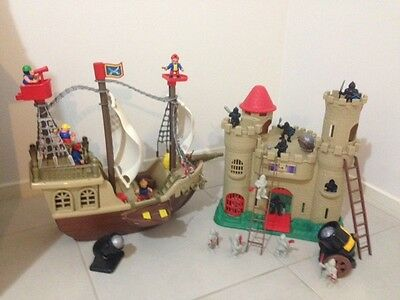 Pirate Ship & Castle Toys Pretend Play Awesome